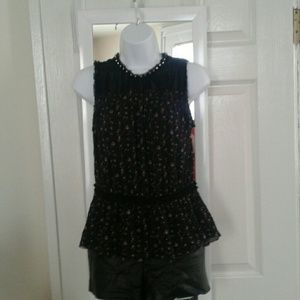 Juicy Couture Floral Tank Top. M